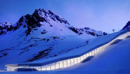 Un ski dôme en montagne ? - Actualités