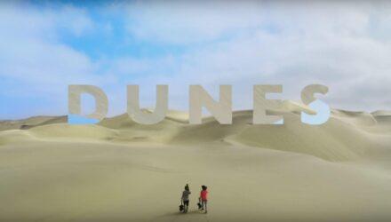 Dunes ou du freeski sur sable ! - Vidéos