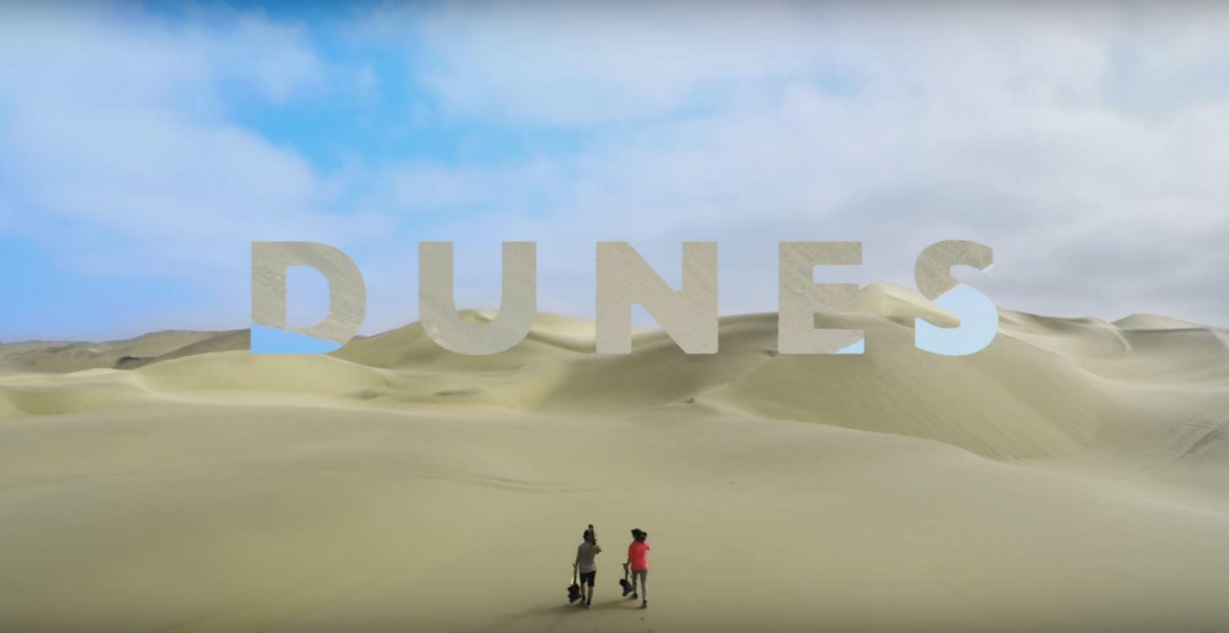 Dunes ou du freeski sur sable !