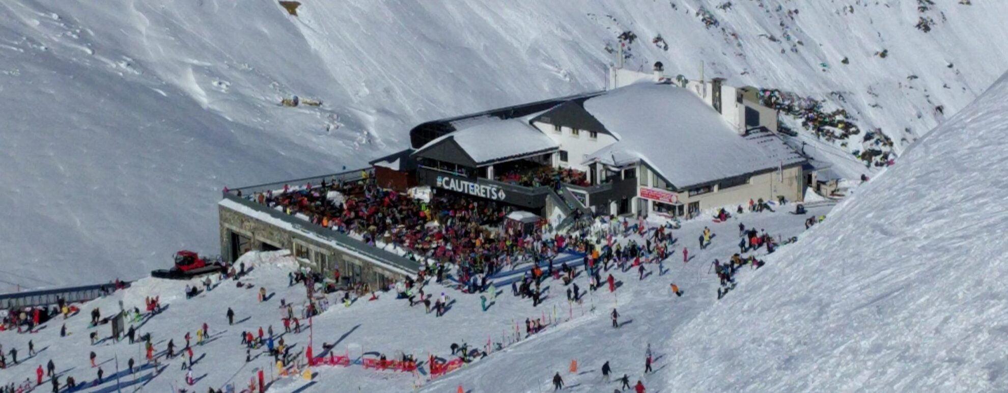 Skier à Cauterets, Pyrénées