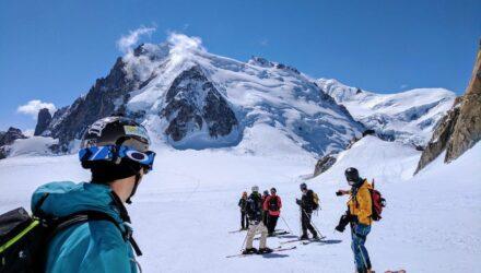 La descente de la Vallée Blanche, Mont-Blanc - Destinations