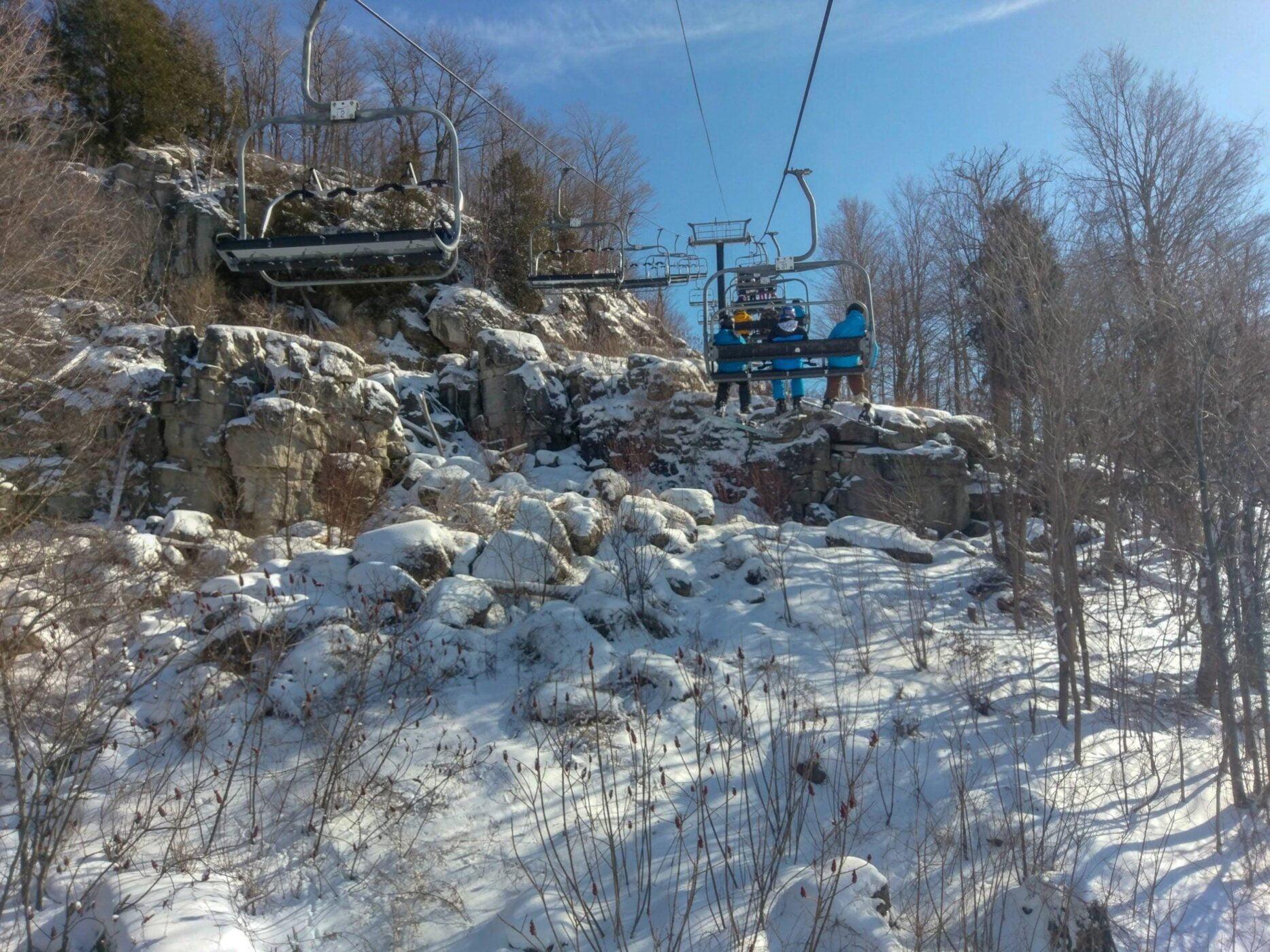 Skier en Ontario