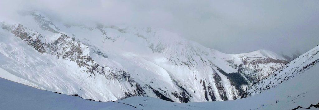 Panorama rocheuses
