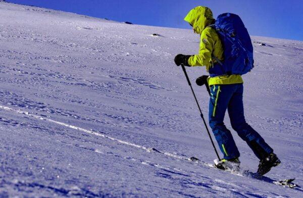 skieur en randonnée