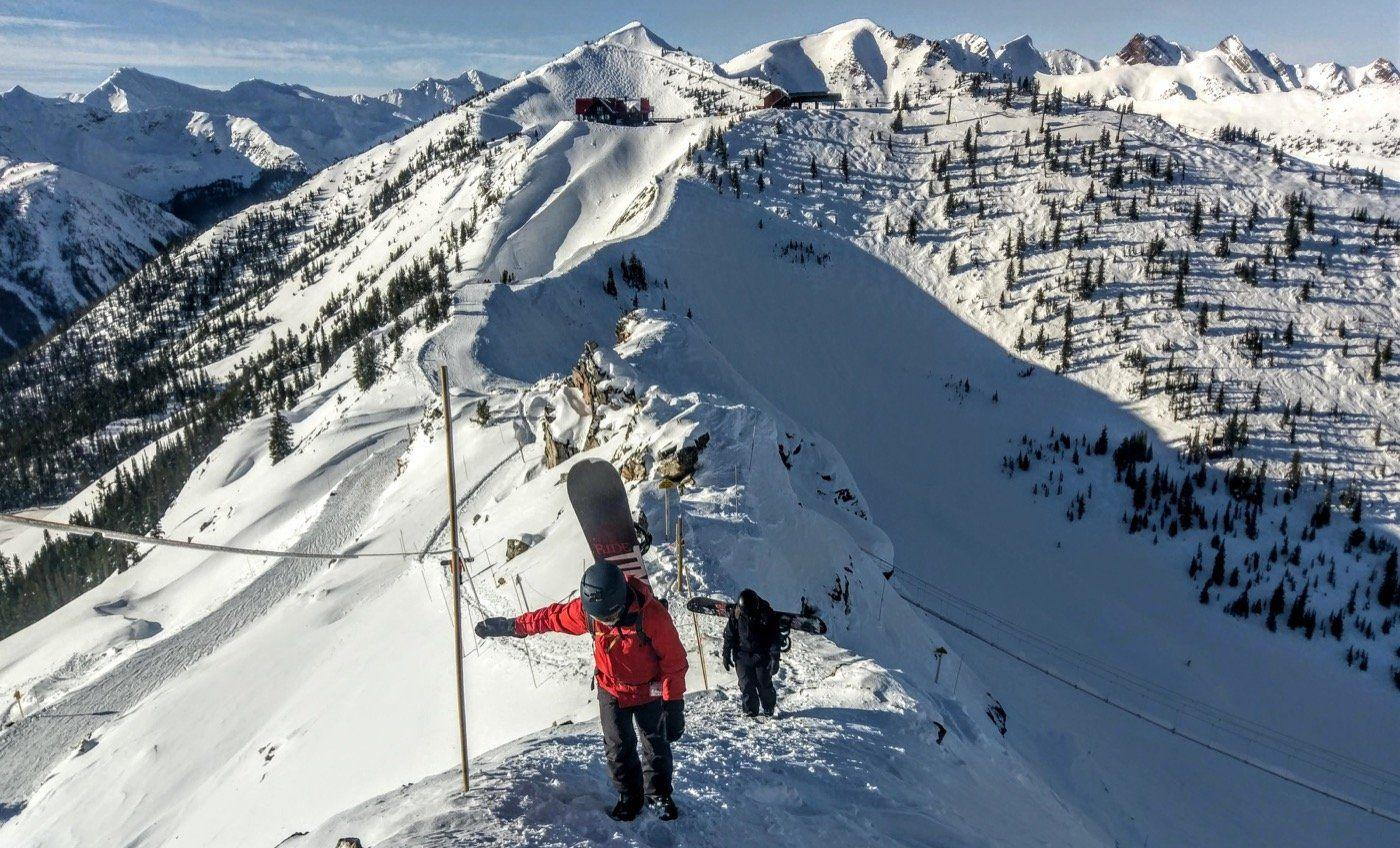 Kicking Horse, la station de ski de la Champagne Powder