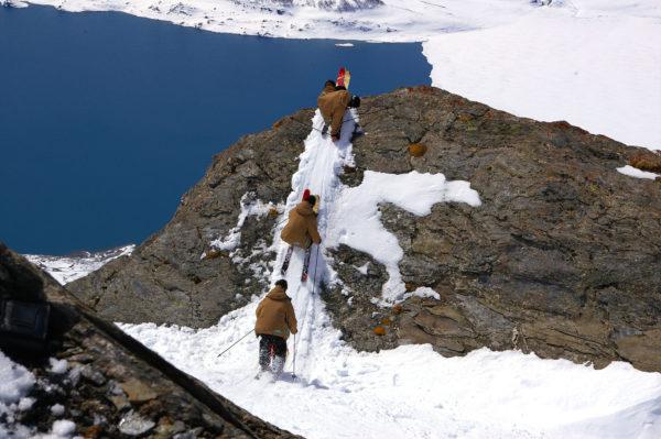 fond d'écran pour laptop Séquence freestyle au Mont Cenis
