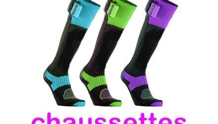 Les meilleures chaussettes chauffantes de ski en 2021 - Équipement