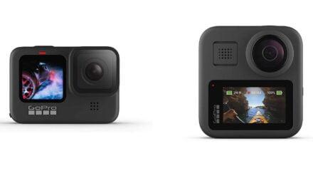 Comparaison GoPro Hero vs GoPro Max - Équipement