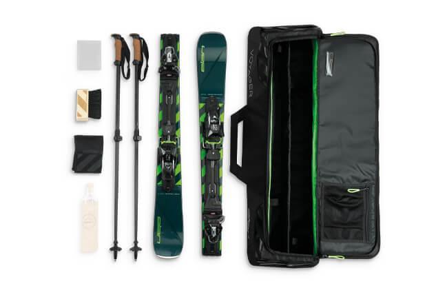 sac de rangement pour les skis pliables