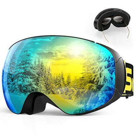 Masque de ski double lentille UV400