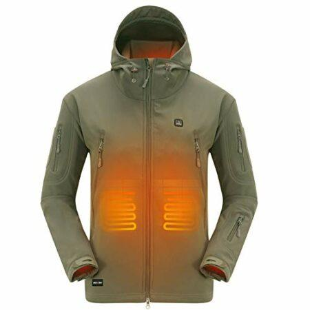 Veste de ski chauffante