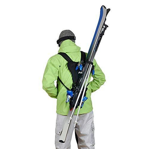 skiback : porte ski dans le dos