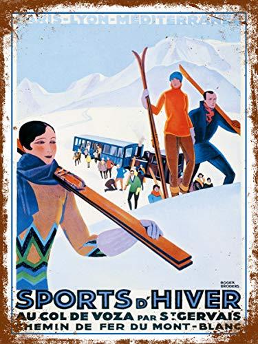 Panneau sports d'hiver