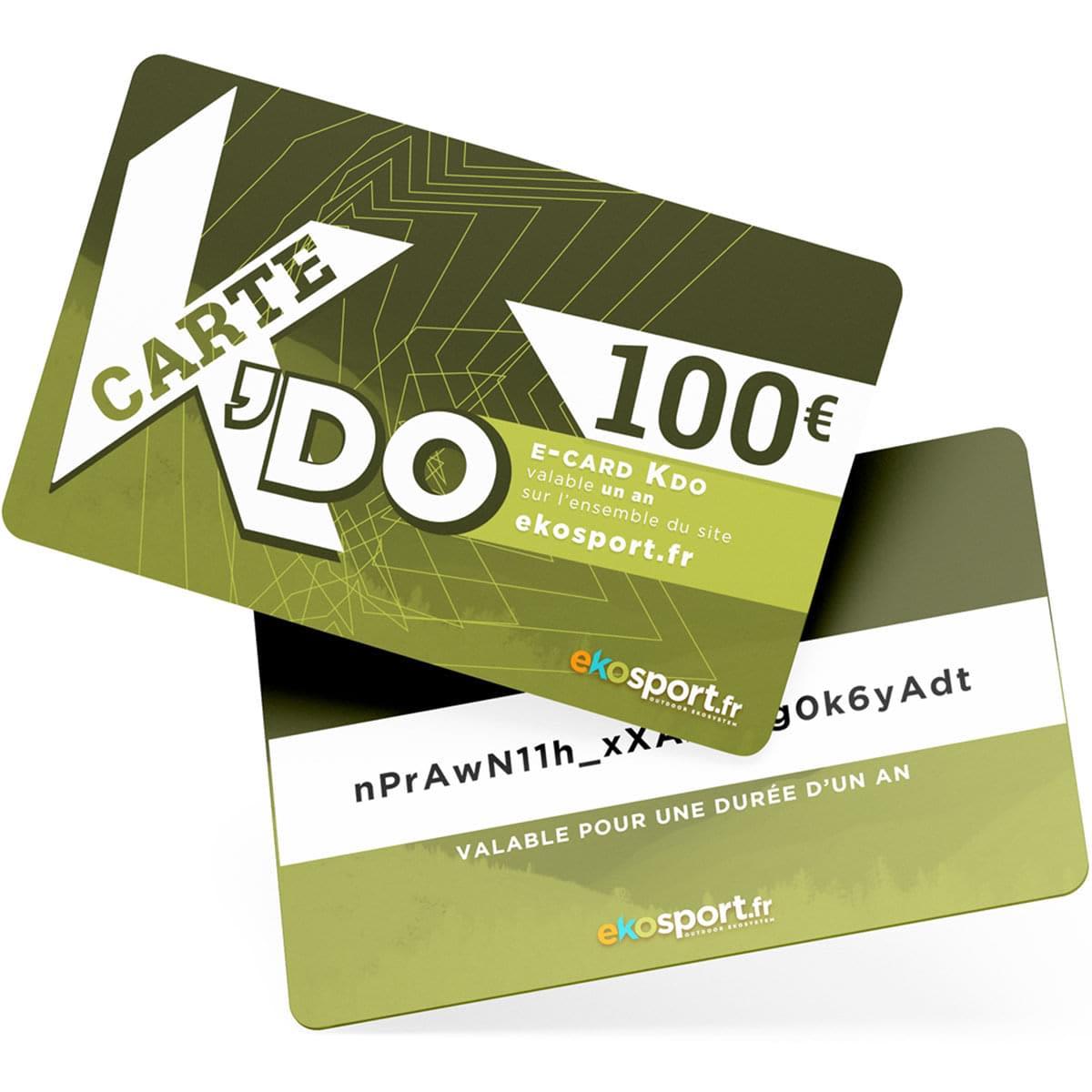 Carte cadeau Ekosport 100 euros