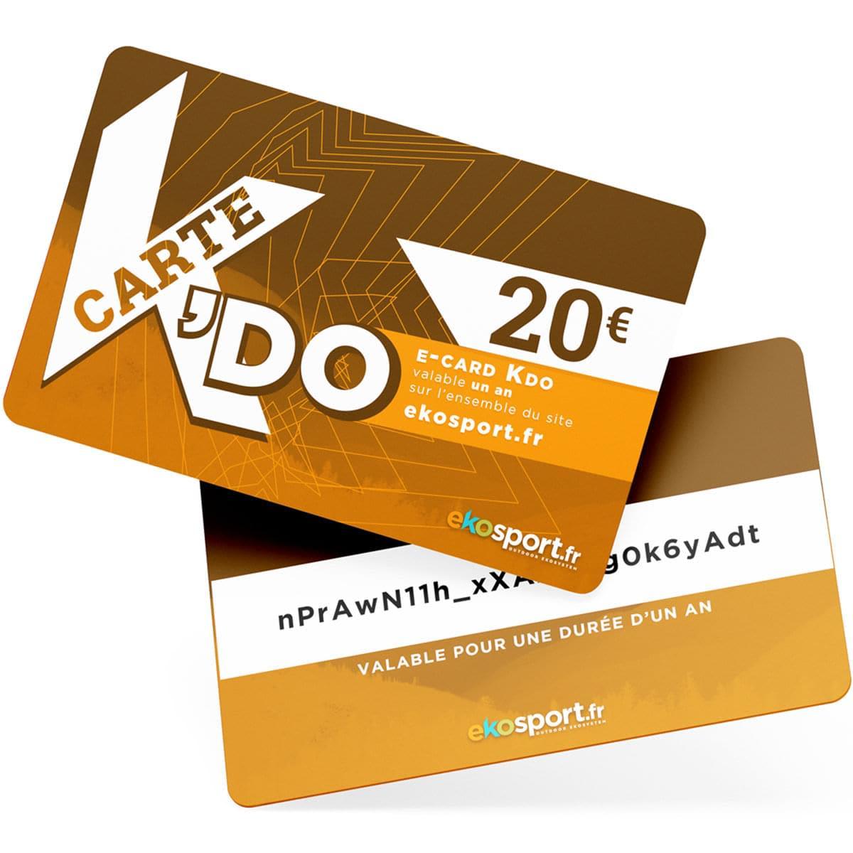Carte cadeau Ekosport 20 euros