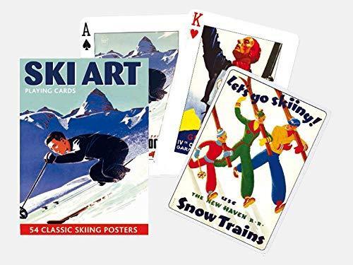 jeu de cartes ski et montagne