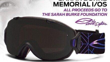 Le masque Smith en mémoire de Sarah Burke - Actualités