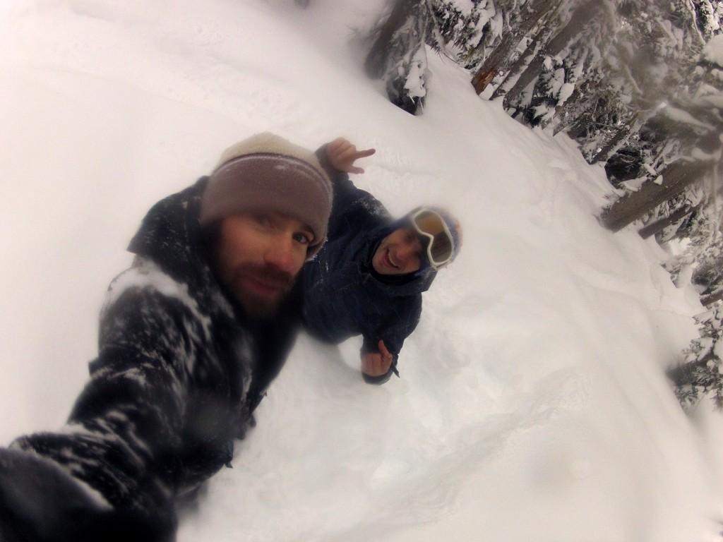 Oui, il y a de la neige à Whistler